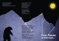 Flyer Eskimo.indd - Theater der Schatten