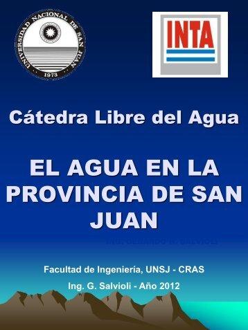 El Agua en San Juan.pdf - INTA
