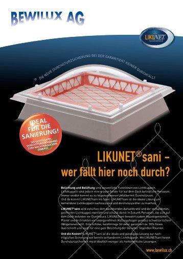 ideal für die sanierung! - Bewilux AG