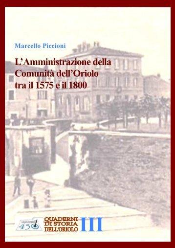 Quaderno 3 - Comune di Oriolo Romano