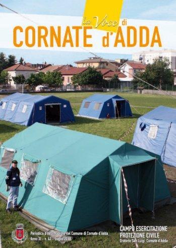 Numero Luglio 2010 - Comune di Cornate d'Adda
