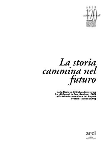 la pubblicazione sui 120 anni della CDP - Polisportiva San Quirico