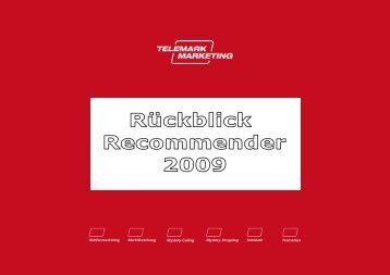 RECOMMENDER Studie - Telemark Marketing