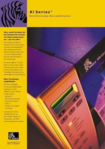 Hochleistungs-Barcodedrucker - Bluhm Systeme GmbH