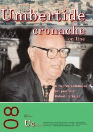 on line - Comune di Umbertide