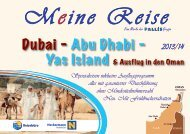 Dubai - Abu Dhabi - Yas Island & Ausflug in den Oman
