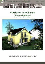 Prospekt Hohenbrunn klassisch.pdf - Rössner Wohnbau GmbH