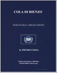 COLA DI RIENZO - World eBook Library