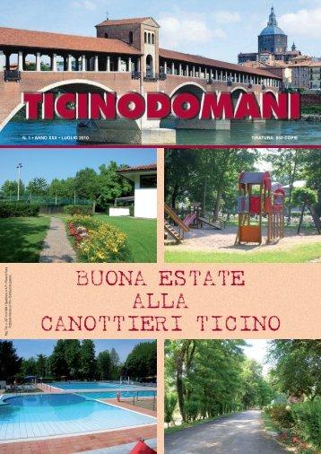 giornalino n. 1-10 - 14-7 - Società Canottieri Ticino