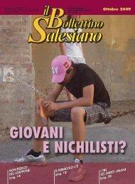 Ottobre 2009 - il bollettino salesiano - Don Bosco nel Mondo
