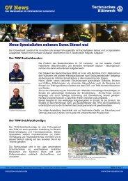 Newsletter 02/08 - THW Ortsverband Landshut
