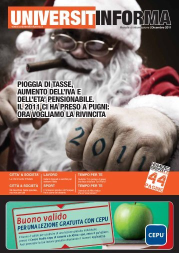 Dicembre 2011 - Universitinforma
