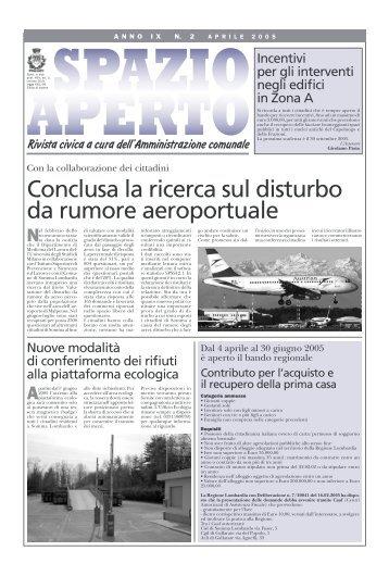 Conclusa la ricerca sul disturbo da rumore aeroportuale - Aerohabitat