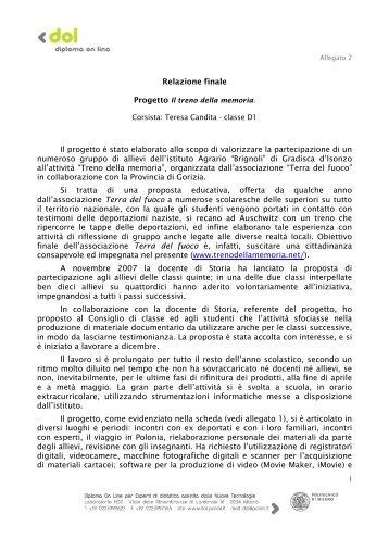 Relazione finale: relazione_candita.pdf - Scuolab