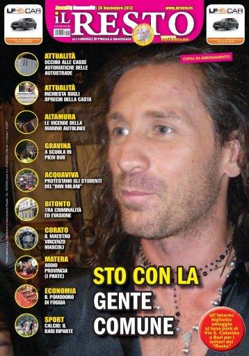 STO CON LA GENTE COMUNE - Il Resto