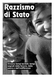 Razzismo di Stato - Federazione Anarchica Italiana