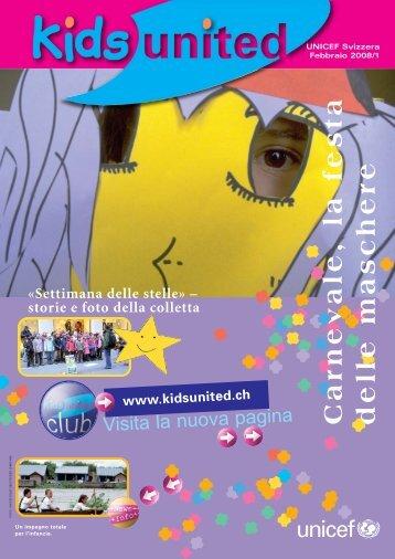 Carnevale, la festa delle maschere - Unicef