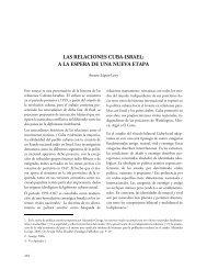 LAS RELACIONES CUBA-ISRAEL: A LA ESPERA DE UNA NUEVA ETAPA