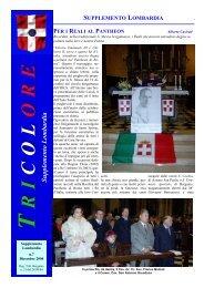 Dicembre 2004 - Tricolore Italia