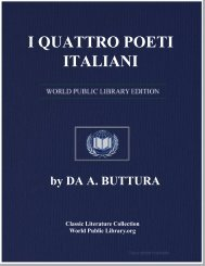 I QUATTRO POETI ITALIANI - World eBook Library