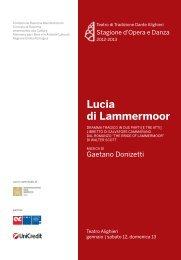 Lucia di Lammermoor PDF - Teatro Alighieri
