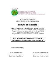 Relazione geologica di variante con III fase e frana definitiva 01-06 ...