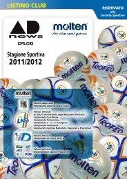 Catalogo Pallone Calcio Molten - Gianbo Sport SRL