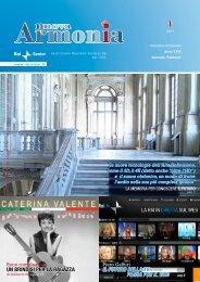 Armonia primo numero anno 2011. - RAISENIOR