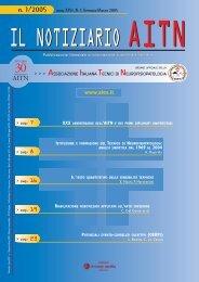 n. 1/2005 - Associazione Italiana Tecnici di Neurofisiopatologia