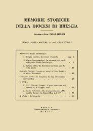 Nuova serie (1965) I, fascicolo 1 - Brixia Sacra