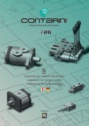 Componenti per l'impianto oleodinamico Components for hydraulic ...