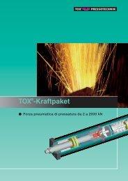 TOX Kraftpaket - il cilindro pneumatico a sistema oleodinamico ...