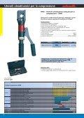 3 Utensili meccanici ed oleodinamici per la compressione - Page 6