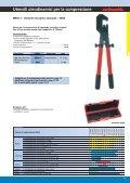 3 Utensili meccanici ed oleodinamici per la compressione - Page 7