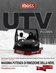 MASSIMA POTENZA DI RIMOZIONE DELLA NEVE. - Boss Products