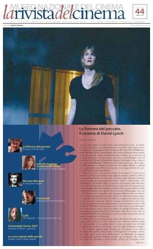 Scarica il PDF - Museo Nazionale del Cinema