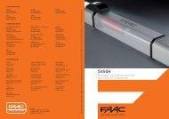 Attuatore oleodinamico 24V per cancelli a battente - Edilportale