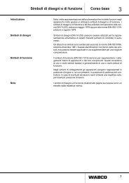 Simboli di disegni e di funzione Corso base - INFORM - WABCO