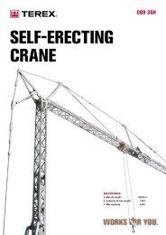 seLf-eReCting CRane - Terex Cranes