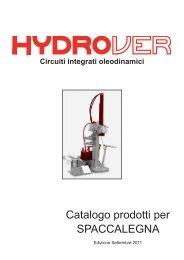 Catalogo prodotti per SPACCALEGNA - hydrover