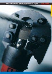 2 Utensili meccanici ed oleodinamici da taglio