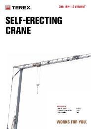 seLF-eReCtinG CRane - Cranes for Sale