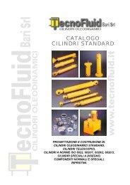 CATALOGO CILINDRI STANDARD - Tecnofluid S.r.l.