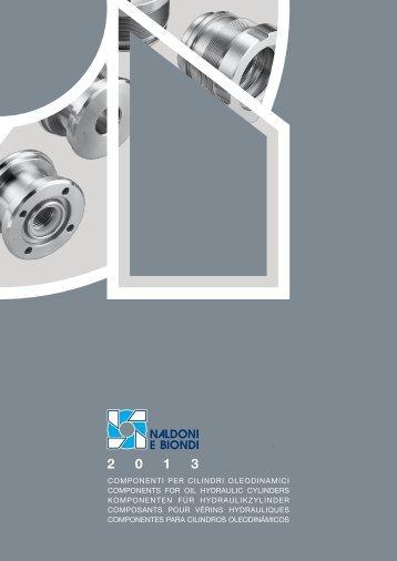 catalogo componenti per cilindri oleodinamici - Naldoni e Biondi