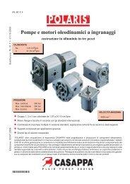 Pompe e motori oleodinamici a ingranaggi - NUOVA O.P.E. srl