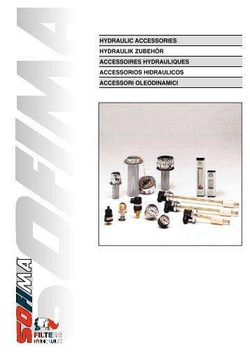 hydraulic accessories hydraulik zubehör accessoires ... - Fluidtech