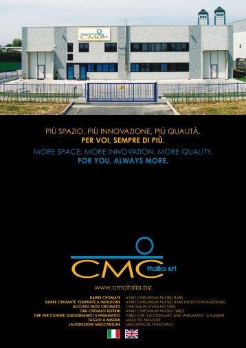 barre cromate - CMC ITALIA Srl