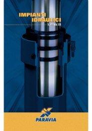 catalogo ascensori oleodinamici - Paravia Srl