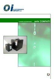 CILINDRI OLEODINAMICI - serie COMPATTI - Oleodinamica ...