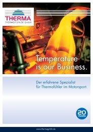 Temperature is our Business. - Therma Thermofühler GmbH